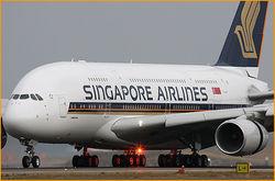 Прибыль Singapore Airlines за третий квартал увеличилась на 6 процентов