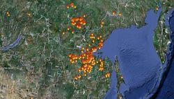 Ситуация с лесными пожарами