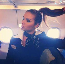 Стюардесса «Аэрофлота»