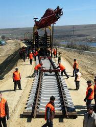 Строительство ж/д магистрали