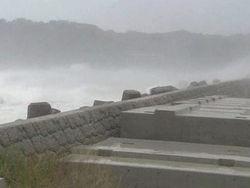 Тайфун на пути к Приморью