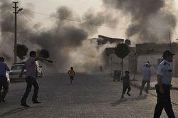 Артилерийский огонь по Сирии