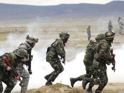 Антитеррористические учения в Таджикистане