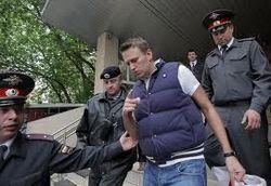 Удальцов и Навальный