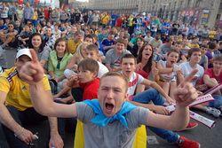 Украинским фанатам не дали подраться