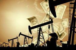 Упали цены на нефть