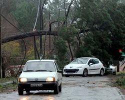 Ураган во Франции