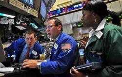 Биржи США перешли к резкому падению