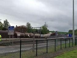 В Бельгии сошел с рельсов поезд