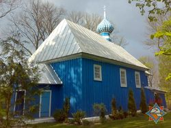 В Брестском районе горела церковь XVI века
