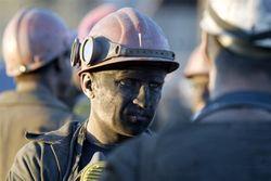 выброс породы на шахте