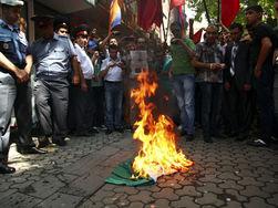 В Ереване - массовый протест
