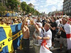 В Киеве подрались болельщики
