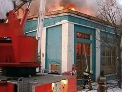 В Лиепае горело предприятие: есть жертвы