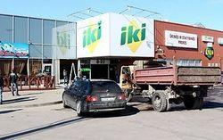 В Литве украли банкомат, въехав в магазин на грузовике