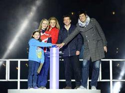 Открытие олимпийского стадиона