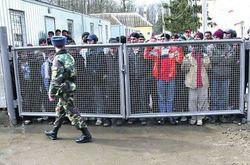 группа мигрантов-нелегалов