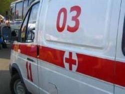 Обстреляна машина скорой помощи