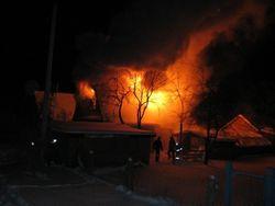 пожар в Осиповичах