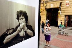 Выставка фотографий Виктора Цоя