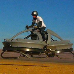 В США испытали летающий мотоцикл