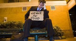 В США безработица