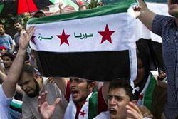 Обстрел города Хомс