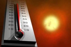 В Украину вернется жара