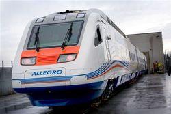Количество рейсов скоростного поезда