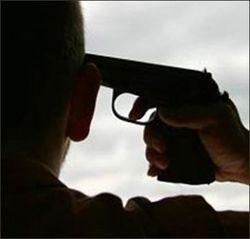 Застрелился милиционер