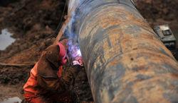 прорыв газопровода