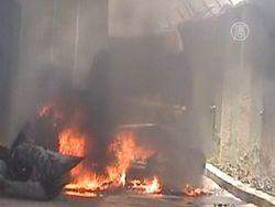 В центре Белграда взорваны две машины