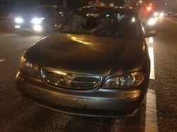 Автомобиль ФСБ сбил пешехода