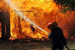 В центре Стамбула пожар