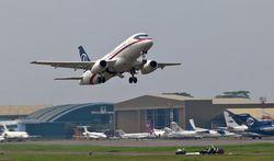 Видео последнего полета российского SuperJet-100