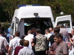 В Днепропетровске взрывы