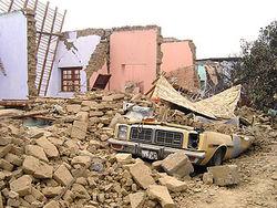 В результате землетрясения погиб человек