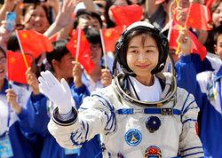 экипаж китайского космического корабля