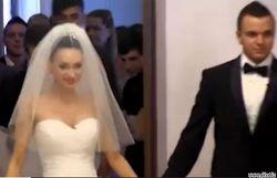 Видео со свадьбы Феофилактовой и Гусева