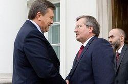 Виктор Янукович встретился с Коморовским