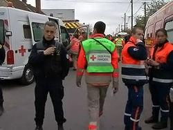 Во Франции гоночный автомобиль протаранил группу людей