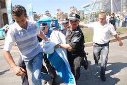 Активистку Фемен приговорили к 5 суткам ареста