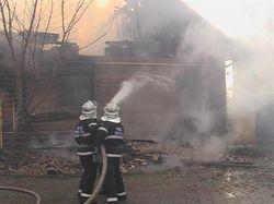 Во время тушения пожара в Ивано-Франковске погиб спасатель