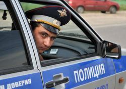 Водитель покусал инспектора ДПС
