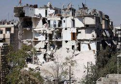 Война в Сирии уничтожает исторические памятники