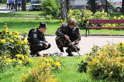 В Киеве обезвреживали обувную коробку