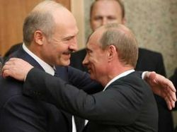 Владимир Путин в Беларуси