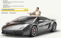 Яндекс подарил пользователю из Турции спорткар Lamborghini Gallardo