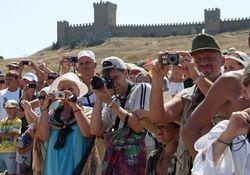 В Крыму побывало 750 тысяч туристов