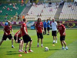 Первый четвертьфинальный матч Евро-2012
